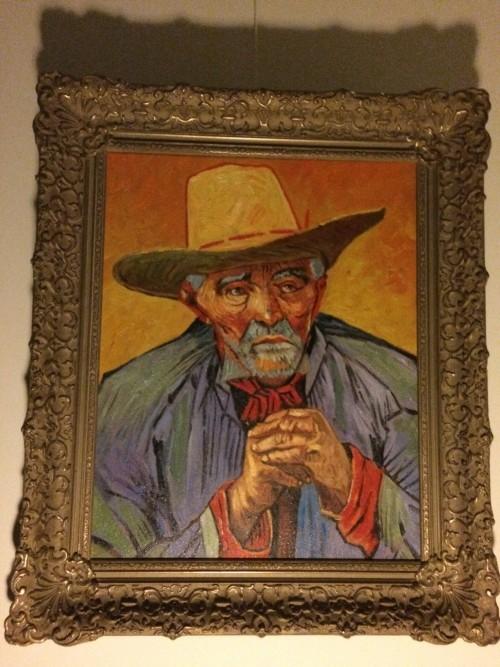Van Gogh's Patience Escalier in oude lijst