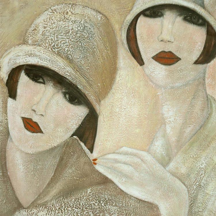 Marij – schilderij met een eigen touch