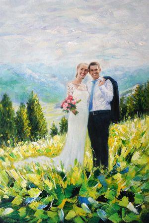 Kunst op maat - trouwfoto