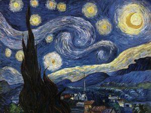 Reproductie op maat - oude meesters -Starry night