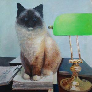 Jaired – promotie cadeau schilderij kat