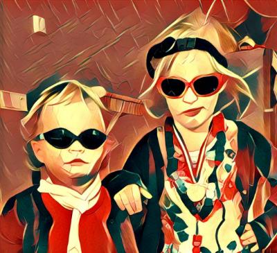 Schilderij op maat - Portret van je kinderen