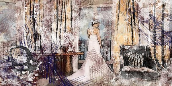 Een uniek schilderij van je trouwdag laten maken
