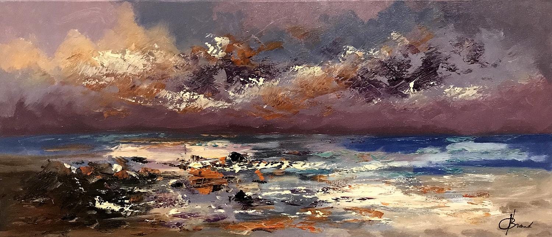kopie abstract landschap schilderij