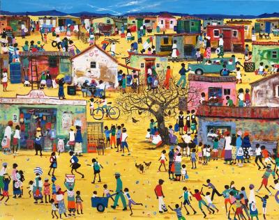 Vakantiefoto naschilderen cultuur