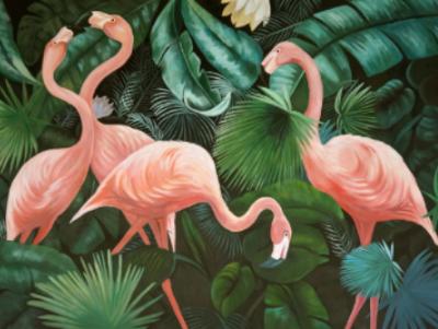 Vakantiefoto naschilderen wildlife