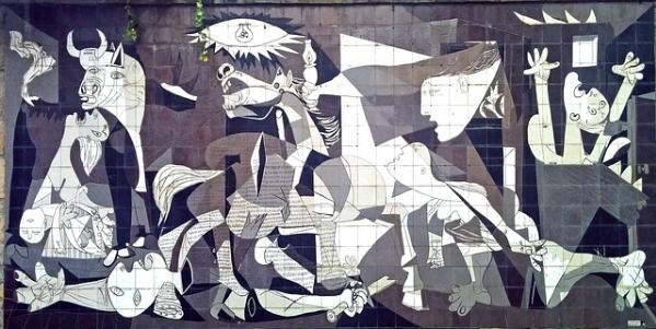 Picasso, Guernica namaken