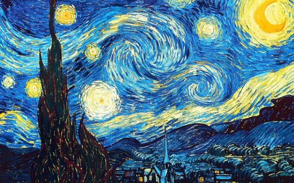 Vincent van Gogh naschilderen