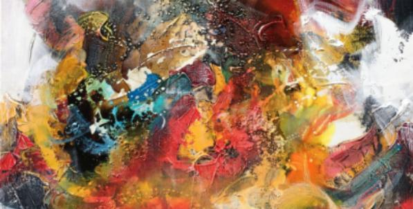 Laat je favoriete abstracte schilderij naschilderen