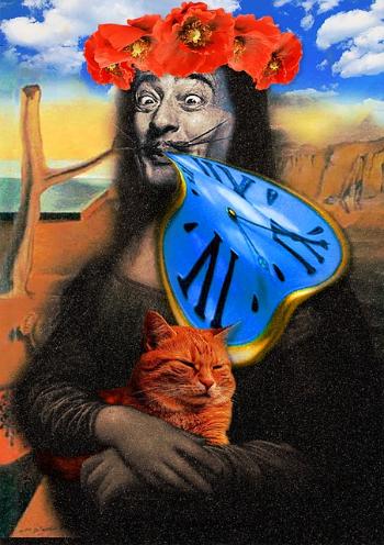 Favoriete schilderij met humor