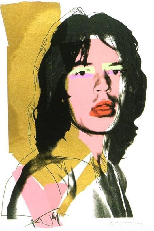 Mick jagger- Kunst op maat