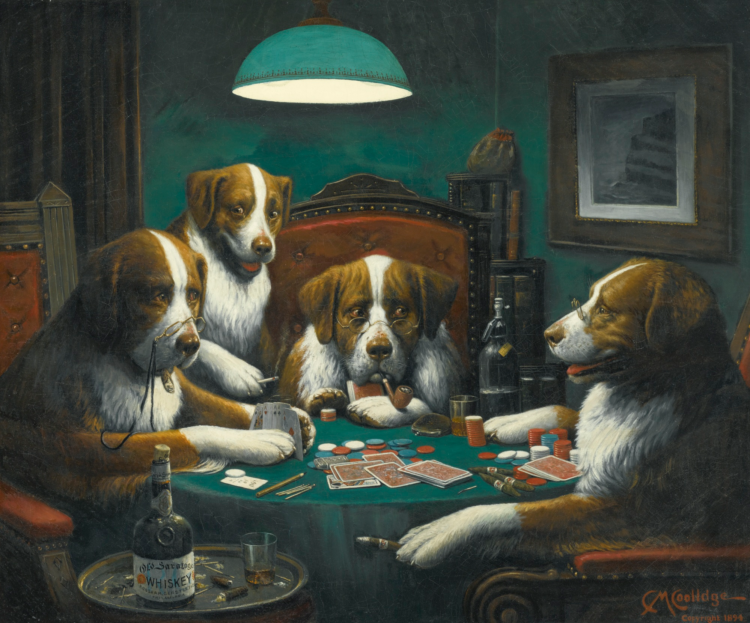 Pokerende honden