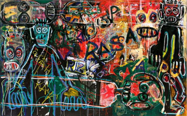 Chris – opdracht abstract schilderij