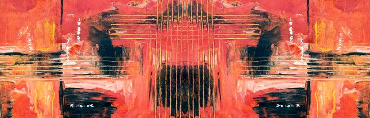 Helen – abstract panorama schilderij