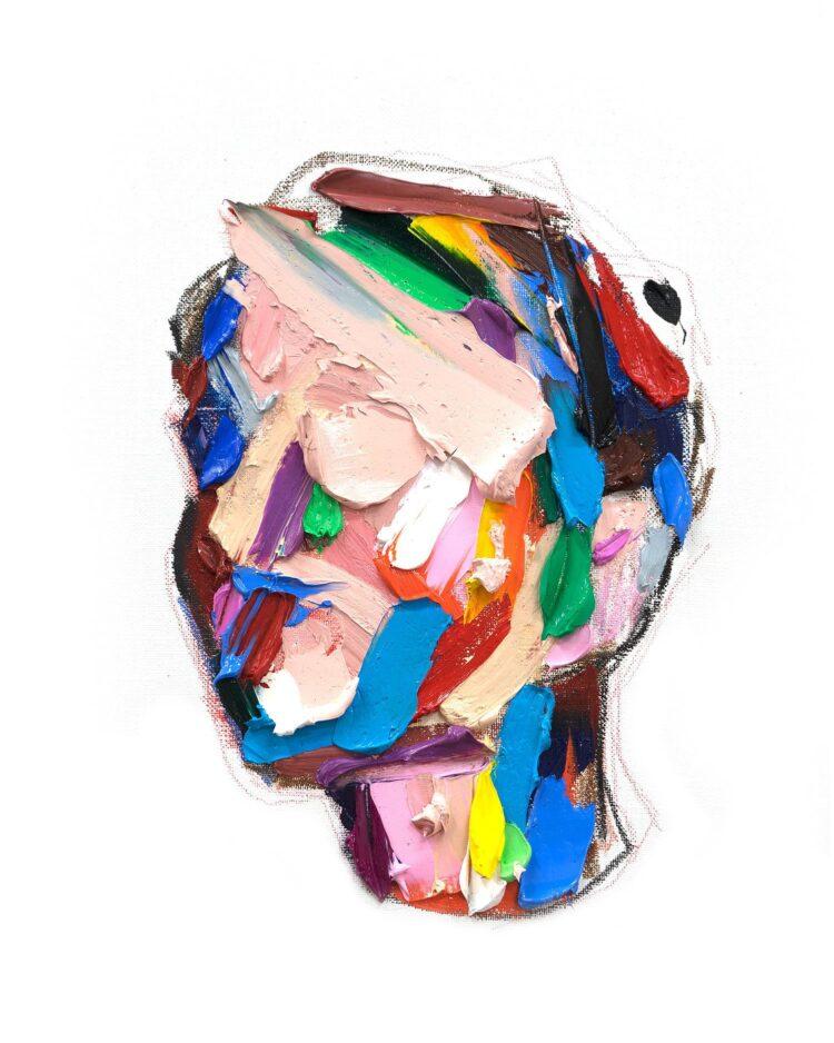 Yvette – kleurrijk gezicht